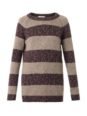 Anarchy striped cashmere sweater