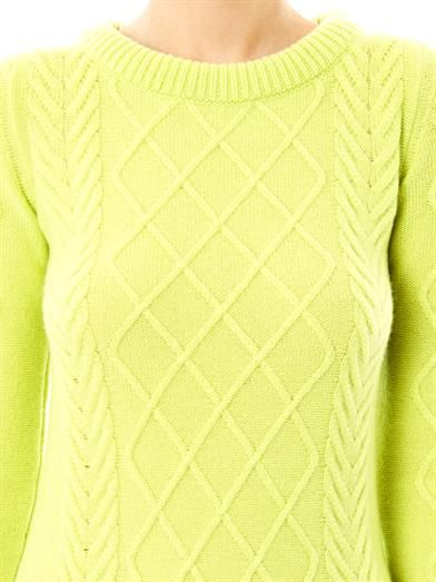 Queene and Belle Hollie cashmere sweater
