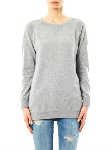 Queene and Belle Flower Power cashmere sweater