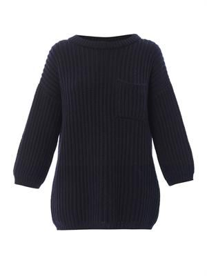 Fisher chunky-knit sweater