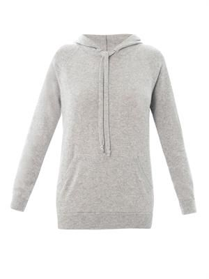 Surf hooded cashmere sweater