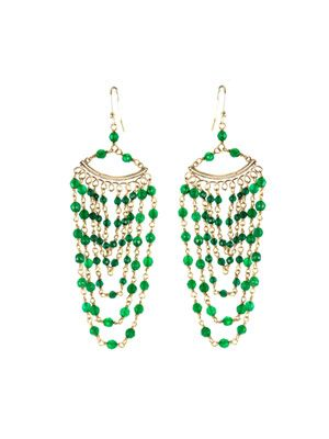 Rimini jade earrings