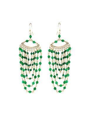Rimini jade earrings
