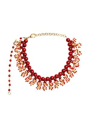 Amore coral necklace