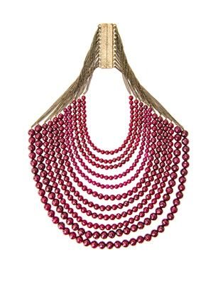 Raissa ruby roots necklace