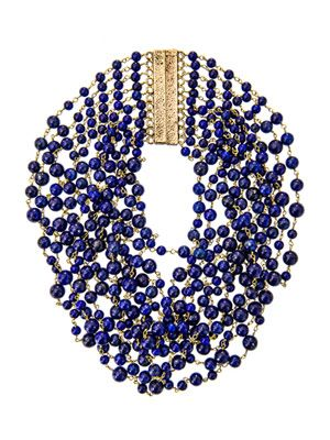 Pegaso lapis necklace