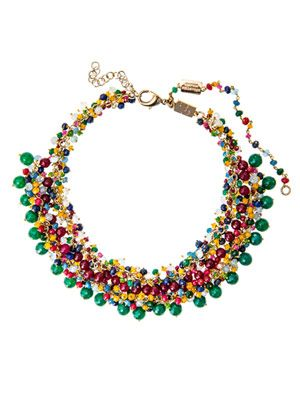 Campo di Fiori multi-gem necklace