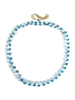 Rosarietto angiolite necklace