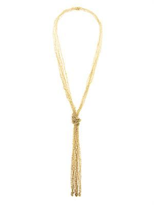 Nodo Penelope gold-plated necklace