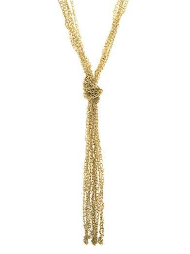 Rosantica by Michela Panero Nodo Penelope gold-plated necklace