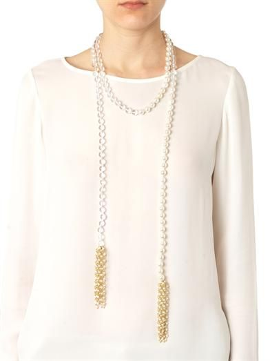 Rosantica by Michela Panero Anais river-pearl necklace