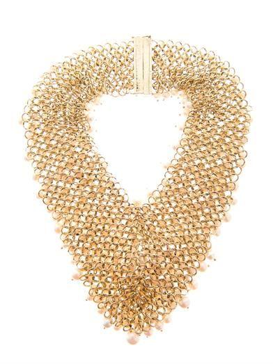Rosantica by Michela Panero Osiris river-pearl necklace