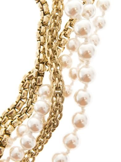 Rosantica by Michela Panero Himalaya river-pearl necklace
