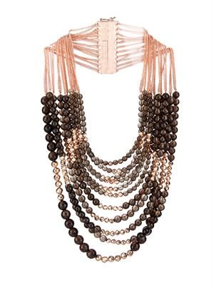 Raissa quartz & gold-plated necklace