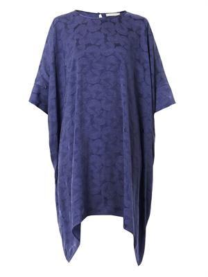 Stella water lily-jacquard dress