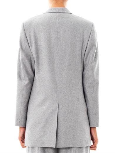 Richard Nicoll Herringbone wool blazer