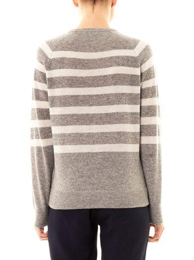 Richard Nicoll Stripe cashmere sweater
