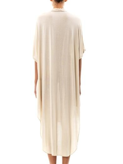 Raquel Allegra Poet step-hem dress