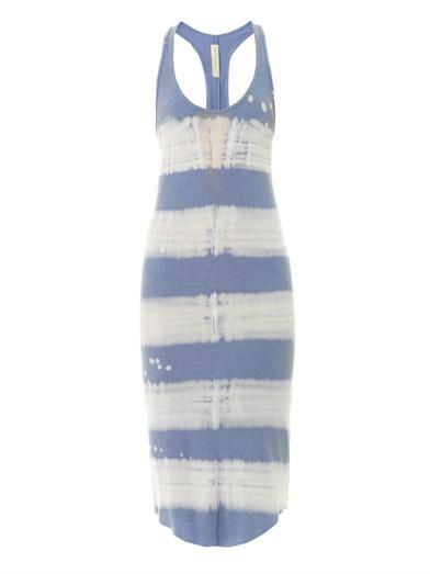 Raquel Allegra Painter ribbed tank dress