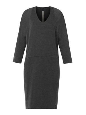 Dolman-sleeve jersey dress