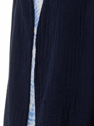 Raquel Allegra Cotton gauze blazer