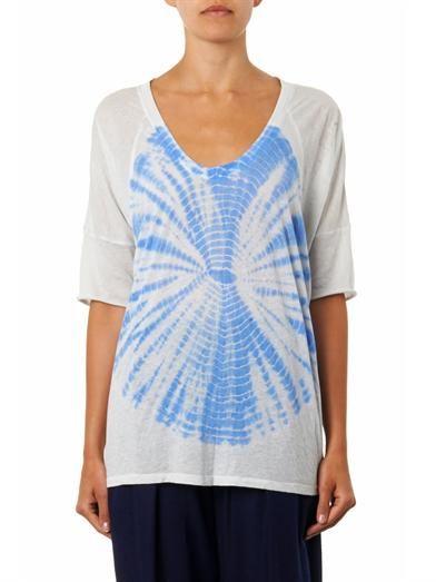 Raquel Allegra Luna tie-dye T-shirt
