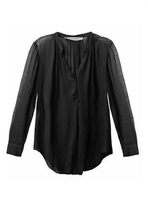 Riviera sheer blouse