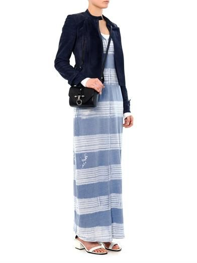 Raquel Allegra Painter striped maxi dress