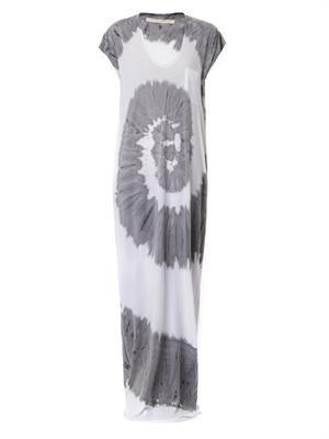 Tie-dye jersey maxi dress