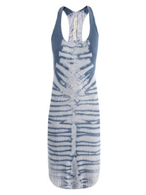 Fossil tie-dye dress