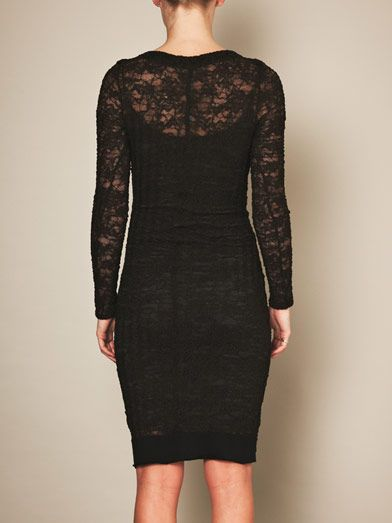 Raquel Allegra French lace body-con dress