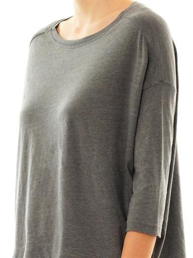 Raquel Allegra Deconstructed jersey top