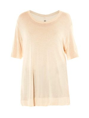 Boxy short-sleeve T-shirt