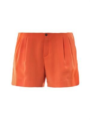 Charlie pleat-front shorts
