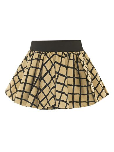 Rag & Bone Daisy check mini skirt