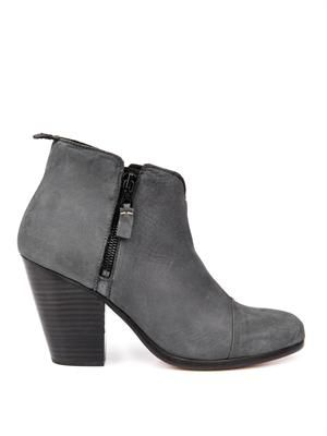 Margot nubuck leather ankle boots