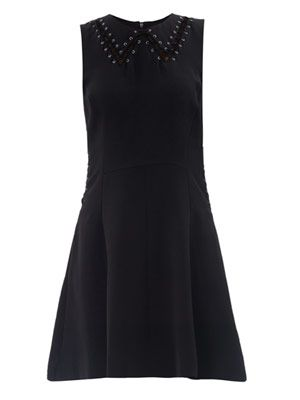 Lillian lace-up dress