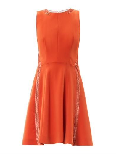 Rag & Bone Renard mesh panel dress