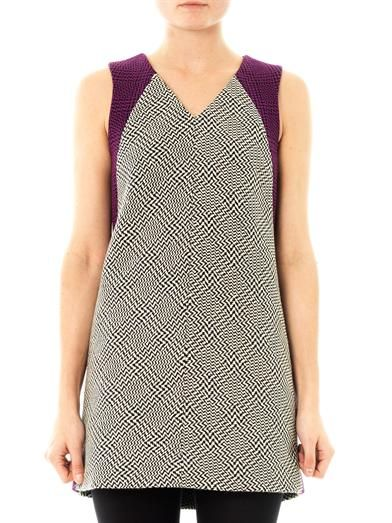 Rag & Bone Solo houndstooth shift dress