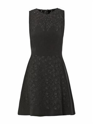 Aya lace panel dress