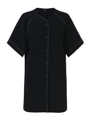 Varsity crepe dress