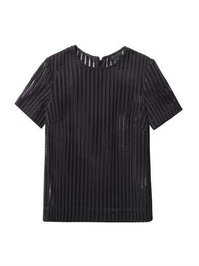 Rag & Bone Oda sheer striped top