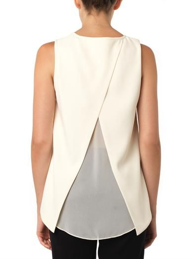 Rag & Bone Harper cross-back blouse