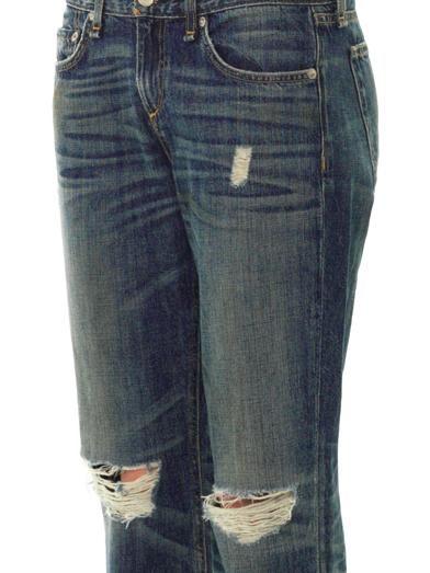 Rag & Bone Buckley mid-rise boyfriend jeans