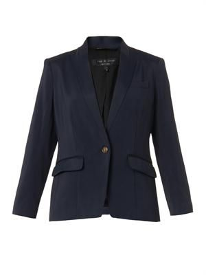 Smith single-breasted blazer