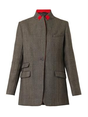 Paloma long-length wool blazer