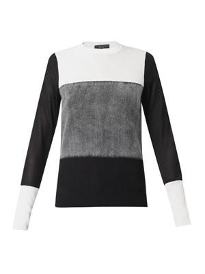 Marissa colour-block sweater