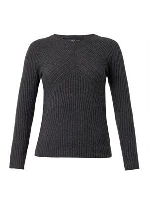 Cece ribbed-knit sweater