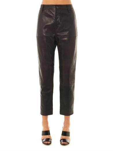 Rag & Bone Carpenter leather trousers