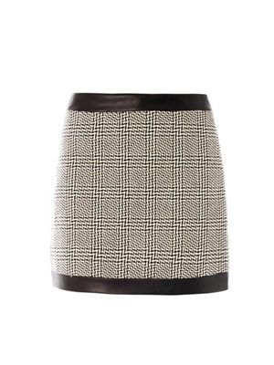 Kensington houndstooth skirt